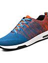Bărbați Adidași Pantofi pe Gleznă Tul Vară Toamnă Outdoor Casual Dantelă Negru Gri Albastru 2.5 - 4.5 cm
