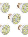 ywxlight® 5w gu10 gu5.3 (mr16) e26 / e27 lumina reflectoarelor led 72smd 2835 400-500 lm cald alb rece rece alb natural 110v / 220v