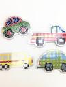 Desen Toy Jucării pentru mașini Puzzle Mașină Autobuz Camion Reparații Plastic EVA Camion Pentru copii Unisex Cadou