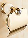 Suport Hârtie Toaletă Contemporan Alamă 1 piesă - Hotel baie