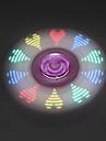 Spinner antistres mână Spinner Jucarii Tri-Spinner LED-ul Spinner Stres și anxietate relief Birouri pentru birou pentru Timpul uciderii