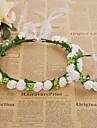 Spumă Banderolele Flori Veșminte de cap Ghirlande with Floral 1 buc Nuntă Ocazie specială Casual În aer liber Diadema