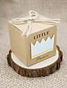 Creative În Formă de Cub Hârtie cărți de masă Favor Holder cu Model Cutii de Cadouri