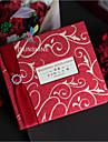 Pliat Invitatii de nunta Invitații Stil Vintage Stil modern Hârtie Perlă Fundă panglică Ștrasuri
