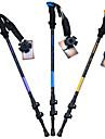3 Sections Batons de marche nordiques 135cm (53 pouces) Amortissement / Pliable / Reglable Alliage d\'aluminium 7075 Camping / Randonnee /