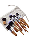 11 Contour Brush Foundation Brush Powder Brush Concealer Brush Eyeliner Brush Brow Brush Eyeshadow Brush Blush Brush Makeup Brush Set