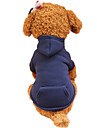Câini Hanorace cu Glugă Îmbrăcăminte Câini Primăvara/toamnă Solid Modă
