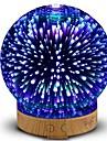 den nya hhy 3d mini usb keramiska luftfuktaren färgglada nattljus flera timing 100-240v
