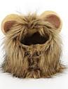 Lion mane paryk til hund og katt kostyme kjaeledyr justerbar vaskbar komfortabelt lejon haar