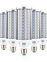 60W E26/E27 Ampoules Mais LED 160 diodes electroluminescentes SMD 5730 Decorative Blanc Chaud Blanc Froid 5850-5950lm 2800-3200/6000-6500