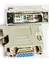 DVI Adaptor, DVI to VGA Adaptor Bărbați-Damă 720p Oțel placat cu nichel
