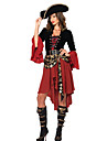 Pirate Costumes de Cosplay Costume de Soiree Feminin Halloween Carnaval Nouvel an Le jour des morts Fete / Celebration Deguisement