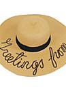 Pentru femei Bloc Culoare Primăvara/toamnă Toate Sezoanele Scufunda Pălărie Contemporan Artistic Γεωμετρικά Clasic Vintage Draguț