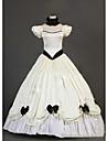 O piesă Rochii Lolita Stil Gotic lolita Cosplay Rochii Lolita Vintage Beretă Manșon scurt Rochie Pentru Other