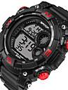 Heren Digitaal Polshorloge Smart horloge Militair horloge Sporthorloge Kalender LED s Nachts oplichtend Stopwatch Fitness trackers
