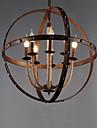 Vintage Ministil Hängande lampor Glödande Till Vardagsrum Studierum/Kontor Spelrum Garage 110-120V 220-240V 110-120V 220-240V Glödlampa
