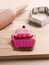 1 coacere Mold Pat pentru dormit tort pentru ciocolată pentru pâine pentru Cookie pentru Sandwich Oțel InoxidabilAnul Nou ziua