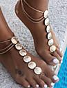 Lănțișor Picior Floare Vintage Pentru femei Auriu / Argintiu Bijuterii de corp Pentru Casual