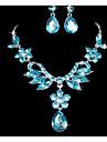 Pentru femei Seturi de bijuterii Ștras Nuntă Petrecere Ocazie specială Zi de Naștere Ștras Aliaj Floare