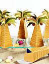 Piramidă Bumbac Favor Holder Cu Cutii de Savoare Genți Savoare Cutii și Sticle de Savoare Sticle și Borcane pentru Dulciuri Forme Hartie