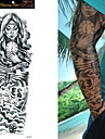 Tatouages Autocollants Autres Non Toxique Grande Taille Impermeable Homme Femme Adolescent Tatouage Temporaire Tatouages temporaires