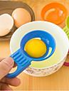 plast ägg separator slumpmässig färg, 16cm x w10cm x h3cm 1pc, köksredskap