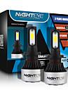 NIGHTEYE H7 Becuri 72 W COB 9000 lm LED Frontală