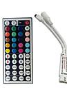 Mini 24 chei rgb IR controler de la distanță pentru 3528 sau 5050 rgb led benzi controler mici rgb transport gratuit