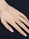Pentru femei Ring Bracelets Ștras Modă Ștras Aliaj Circle Shape Bijuterii Petrecere Aniversare Zi de Naștere Petrecere / Seară Cadou