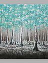 Pictat manual Abstract Orizontal,Abstract Modern/Contemporan Un Panou Canava Hang-pictate pictură în ulei For Pagina de decorare
