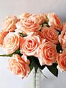 5 Gren Verklig beröring Roser Bordsblomma Konstgjorda blommor