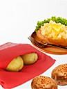 Cuptor cu microunde coapte de cartof rosu de cartofi pentru rapid rapid în doar 4 minute pungi de cartofi