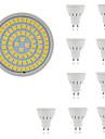 10pcs 5W 400lm GU10 GU5.3 Spot LED 80 Perles LED SMD 2835 Decorative Blanc Chaud Blanc Froid 220-240V