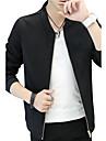 Bărbați Stand Jachetă Alte Zilnic Casual Ρούχα για Ύπαιθρο Dată Stradă Îmbrăcăminte Corporate Ieșire Casul/Zilnic Club Plus Size