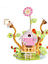 Puzzle 3D Puzzle Μοντέλα και κιτ δόμησης Clădire celebru Casă Reparații Hârtie Rigidă pentru Felicitări Clasic Anime Desen animat Pentru