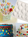 födelsedag ballonger fondant kaka silikon mögel muffin mögel bakverk verktyg choklad confeitaria