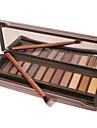 12pcs OEil Fards a Paupieres Poudre Maquillage Smoky-Eye / Maquillage de Fete / Maquillage Quotidien