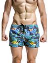 Bărbați Sportiv Lenjerie - Imprimeu Pantaloni Scurți pt Surf