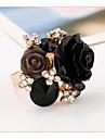 Pentru femei manşetă Ring - Reșină, Perle Roz Floare Ajustabil Verde / Albastru / Bleumarin Pentru Nuntă / Petrecere / Cadou