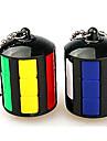 Rubiks kub Mjuk hastighetskub Lindrar stress Magiska kuber Nyckelknippa Plastik Rund Present