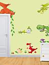 Animale Floral/Botanic Desene Animate Perete Postituri Autocolante perete plane Autocolante de Perete Decorative MaterialPagina de