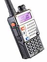 BAOFENG BUV-5RE Walkie-talkie Handhållen Varning För Låg Batterinivå Programmerbar med PC-mjukvara Röstprompt VOX Kryptering Hög och låg