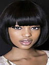 Synthetic Wig Straight Bob Haircut Black Women\'s Capless Natural Wigs Medium Synthetic Hair