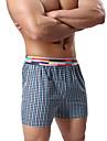 Bărbați Sporturi Bloc Culoare Boxeri Briefs(Bumbac)