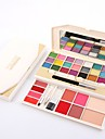 Eyeshadow Palette Eye Shadow Highlighters Makeup Eye Lip Face Shimmer 34 Colors Cosmetic Grooming Supplies