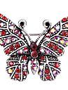 Pentru femei Broșe Ștras Design Animal Aliaj Animal Shape Fluture Bijuterii Pentru Petrecere Zilnic Casual Serată