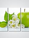 Imprimeu pânză întins Trei Panouri Canava Orizontal Imprimeu Decor de perete For Pagina de decorare