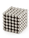 64 pcs 4mm Magnet Toy Magnetic Balls Building Blocks Super Strong Rare-Earth Magnets Stress and Anxiety Relief Relieves ADD, ADHD, Anxiety, Autism Magnetic Kid\'s / Adults\' Boys\' Girls\' Toy Gift / DIY