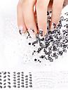 24pcs Annat Nail Stamping Mall Dagligen Mode Hög kvalitet