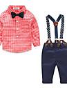 Băieți Seturi Buline Altele Bumbac Poliester Primăvară Toamnă Set Îmbrăcăminte